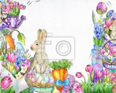 Cute spring illustration