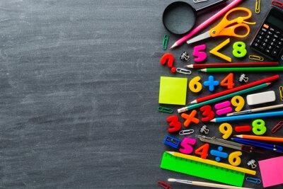 Naklejka Ćwiczenia papiernicze i matematyczne