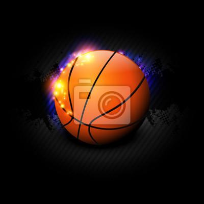 czarny koszykówki