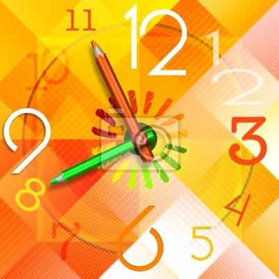 Czas Kolorowe Szkoła Watch