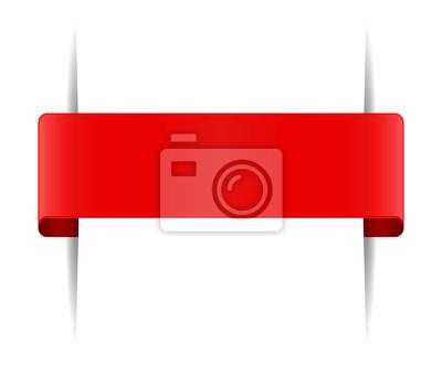 czerwona zakładka