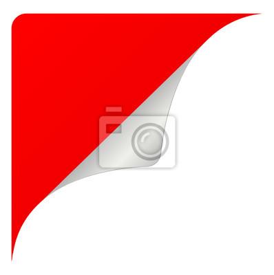 czerwone naklejki