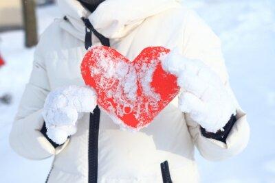 Czerwone serce jest doskonałe tło dla Walentynki