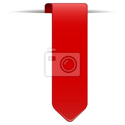 czerwony element projektu