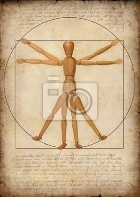 Człowiek witruwiański (nowoczesna interpretacja)