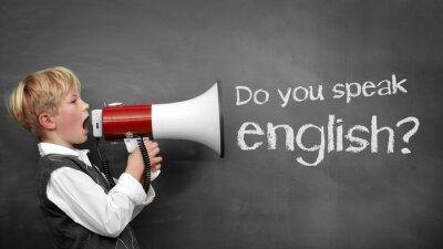 Naklejka Czy mówisz po angielsku?