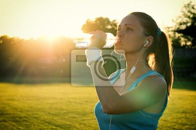 Czy sport na zachodzie słońca