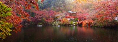 Naklejka Daigo-ji jesienią