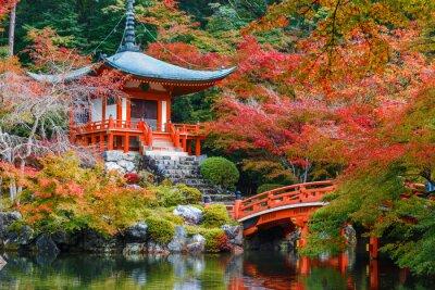 Naklejka Daigoji świątyni w Kioto