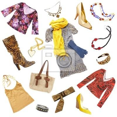 Damskie ubrania i akcesoria