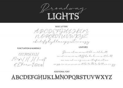Decorative script duo font.