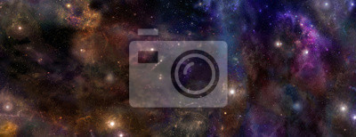 Naklejka Deep Space Baner