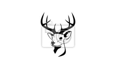 deer face logo