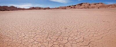 Naklejka Desierto del Diablo, Devil Desert, in Puna de Atacama, Argentina