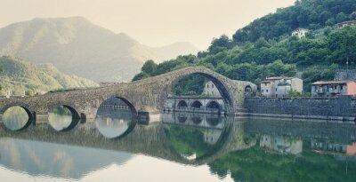 Naklejka Devils Bridge Włochy