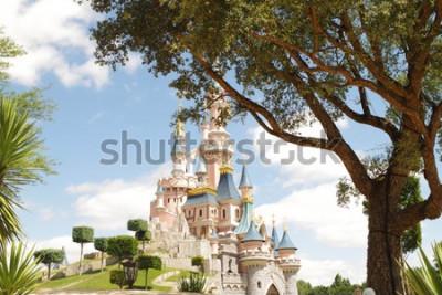 Naklejka Disneyland Paris castle