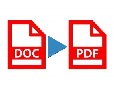 Naklejka Dokument do pliku pdf ilustracji