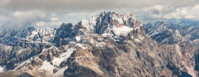 Naklejka Dolomity górskich