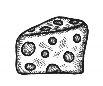 Naklejka doodle sera