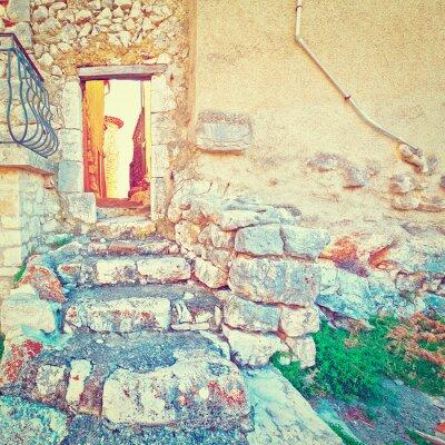 Naklejka Door in the Wall