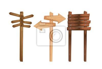 Drewniana wskazanie
