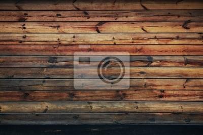 Naklejka drewniane ściany