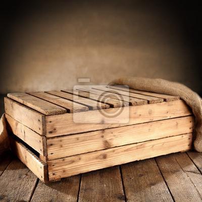 Naklejka drewniane tle