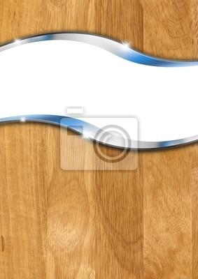 Drewniane Tło Metal