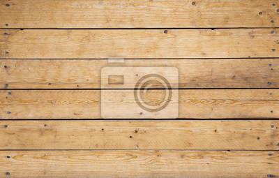 Naklejka drewniany mur