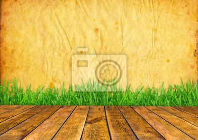 Drewno teksturowane tła w wnętrze