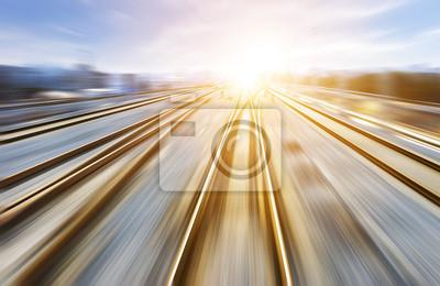 Naklejka Droga kolejowa