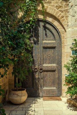 Naklejka drzwi