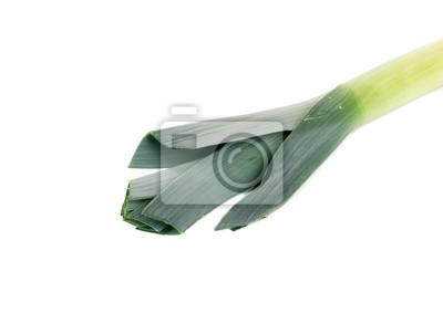 Naklejka Duża walijski zielony pora.