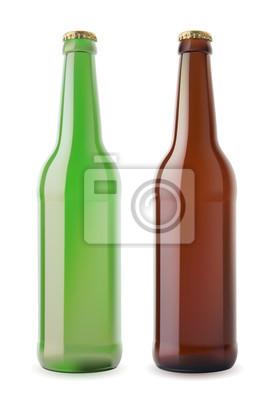 Dwa bootles piwa.
