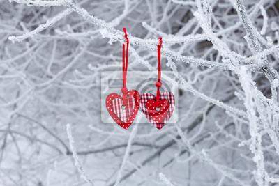 Dwa serca w zimie