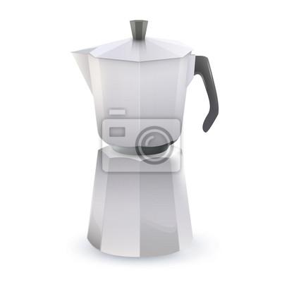 Dzbanek do kawy. Vector design