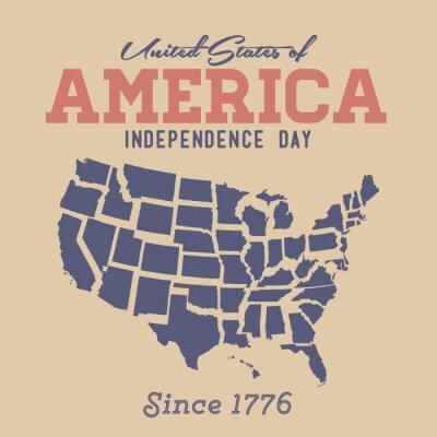Naklejka Dzień Niepodległości Znak retro