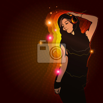 dziewczyna muzyka