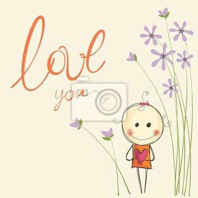 Dziewczynka Miłość