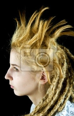 dziwne fryzury