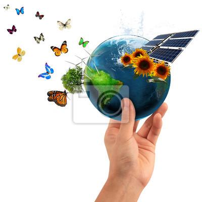Naklejka Eco mondo