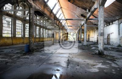 Naklejka edificio industriale w Rovina