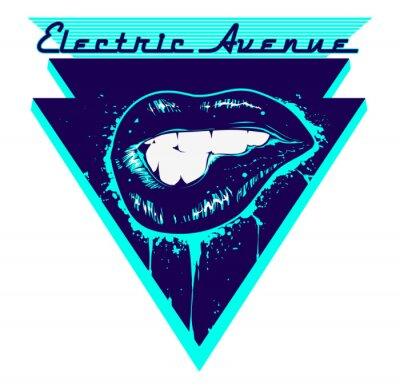 Naklejka Electric Avenue