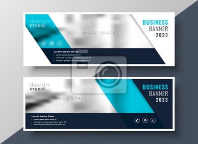 elegancki projekt transparentu biznesowego z przestrzenią obrazu