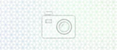 elegant hexagonal line pattern stylish background design