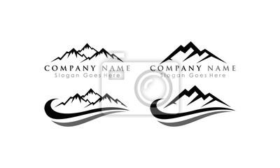 elegant mountain set template