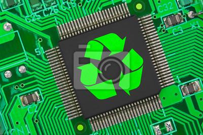 Naklejka Elektronik-Recykling