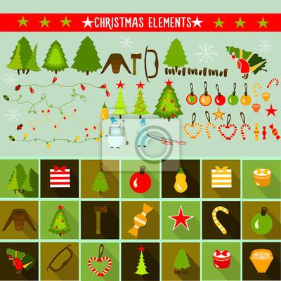Elementy świąteczne.