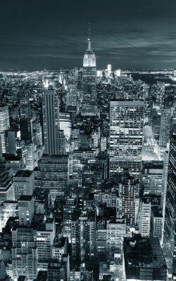 Naklejka Empire State Building zbliżenie