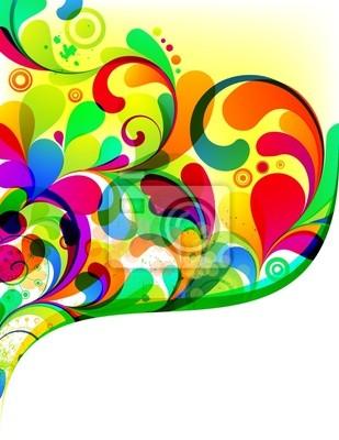 EPS10. Kolorowe edytowalny wzór tła